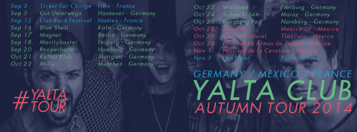 Yalta Club Fall Tour 2014