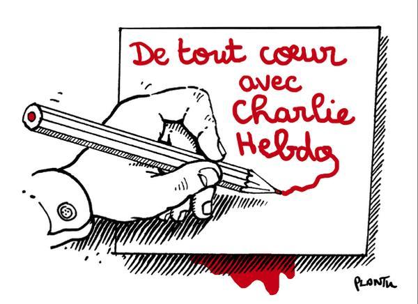 Plantu Charlie Hebdo